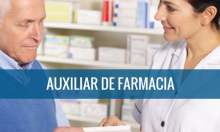 Auxiliar farmaceutico